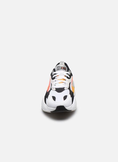 Baskets Puma RS-X³ PUZZLE W Multicolore vue portées chaussures