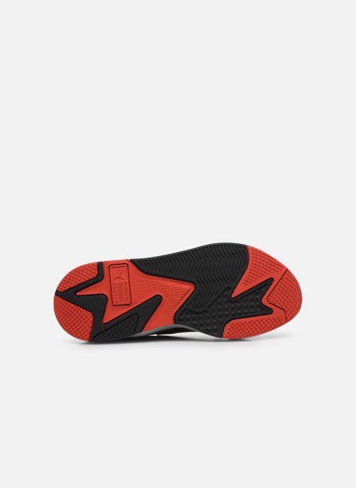 Baskets Puma RS-X³ PUZZLE Blanc vue haut