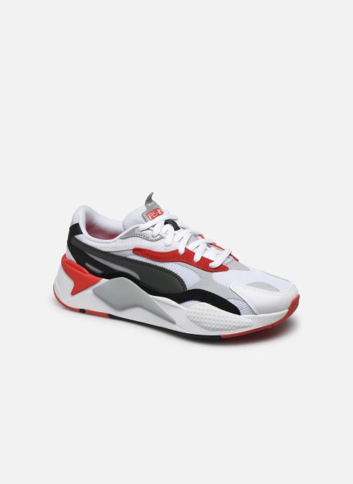 Baskets Puma RS-X³ PUZZLE Blanc vue détail/paire