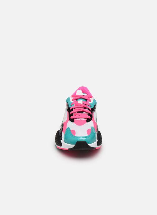 Baskets Puma RS-X3 PLASTIC W Multicolore vue portées chaussures