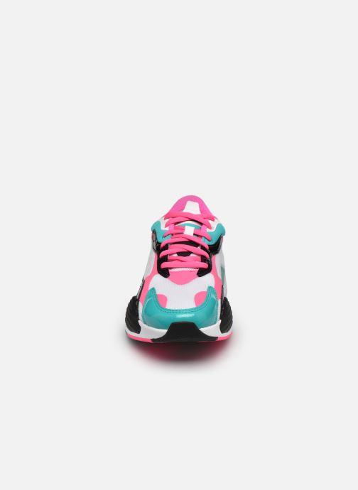 Baskets Puma RS-X3 PLASTIC Multicolore vue portées chaussures