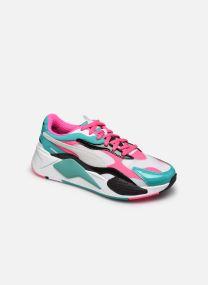 Puma White-Fluo Pink