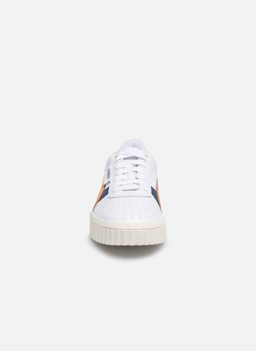 Baskets Puma Cali Retro Wn's Blanc vue portées chaussures