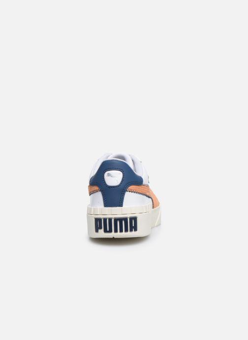 Baskets Puma Cali Retro Wn's Blanc vue droite
