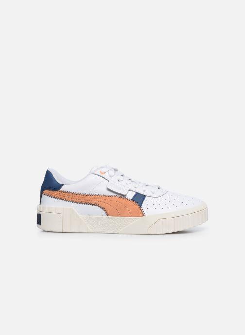 Sneakers Puma Cali Retro Wn's Wit achterkant