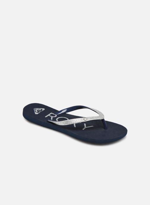 Slippers Roxy RG Viva Glitter III Blauw detail