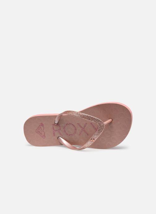 Infradito Roxy RG Viva Glitter III Rosa immagine sinistra