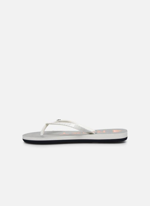 Chanclas Roxy RG Pebbles VII Blanco vista de frente