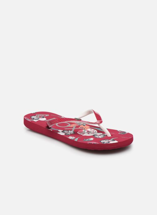 Chanclas Roxy RG Pebbles VII Rojo vista de detalle / par