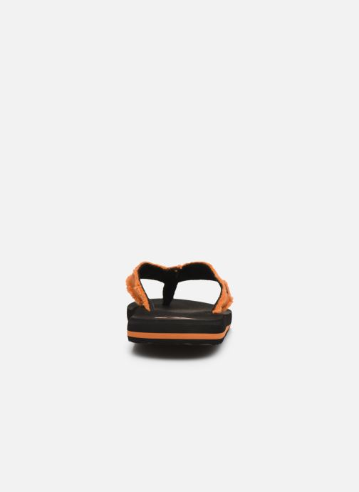 Tongs Quiksilver Monkey Abyss Youth Noir vue droite
