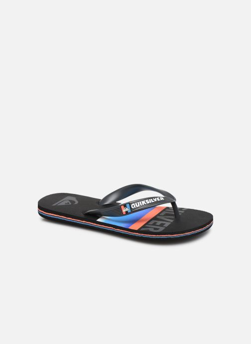 Slippers Quiksilver Molokai Slab Youth Zwart detail