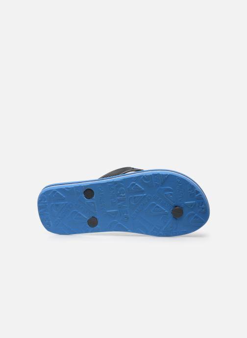 Tongs Quiksilver Molokai Slab Youth Bleu vue haut