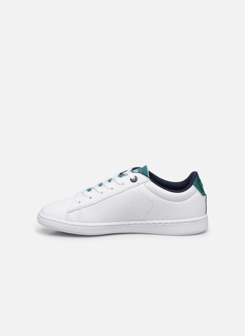 Baskets Lacoste Carnaby Evo 120 2 Blanc vue face