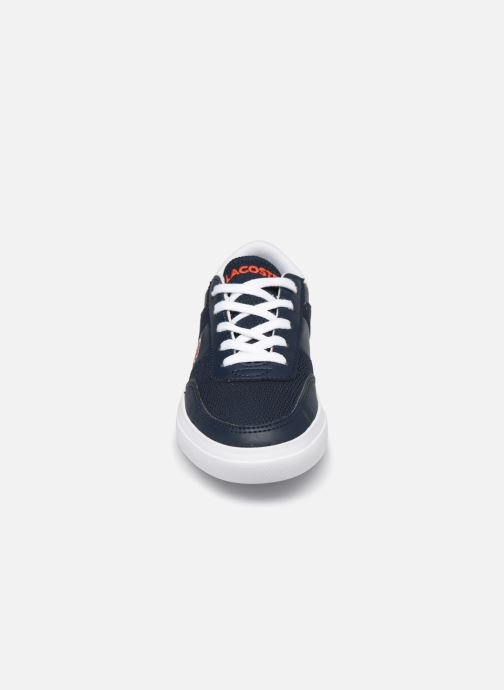 Baskets Lacoste Court-Master 120 1 Cuc Bleu vue portées chaussures