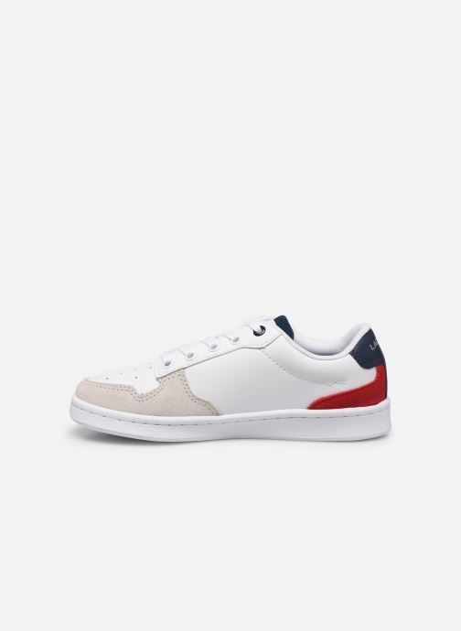 Baskets Lacoste Masters Cup 120 2 Blanc vue face