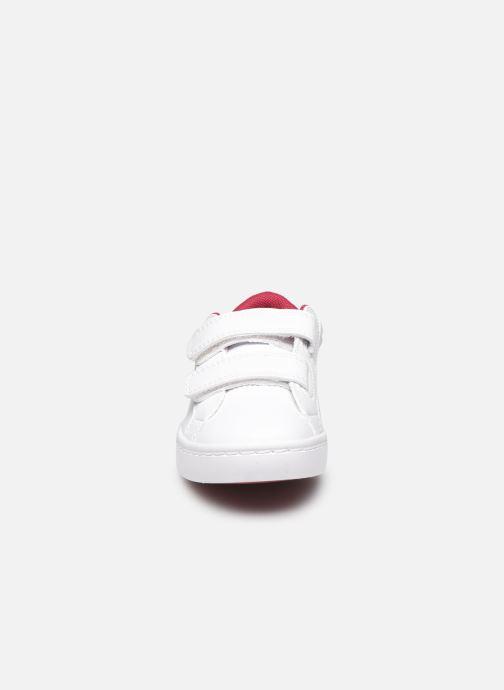 Baskets Lacoste Straightset 120 1 Cui Blanc vue portées chaussures