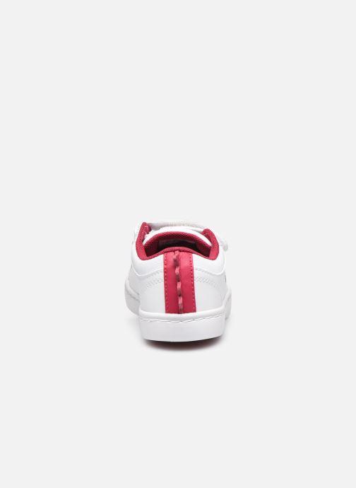 Baskets Lacoste Straightset 120 1 Cui Blanc vue droite