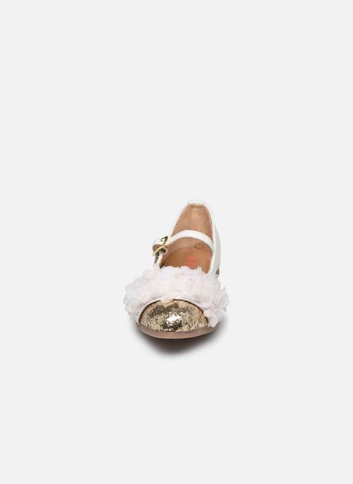 Ballerine Billieblush U19225 Bianco modello indossato