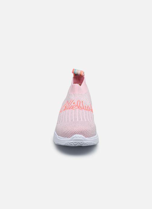 Baskets Billieblush U19234 Rose vue portées chaussures