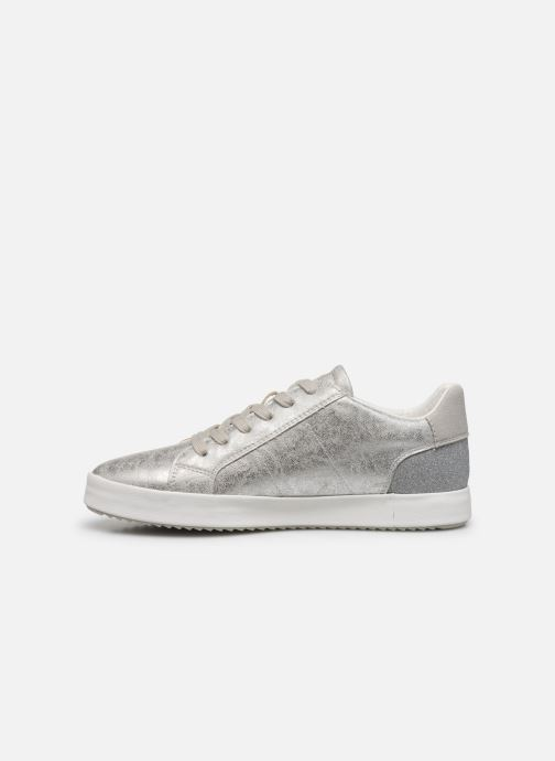Sneakers Geox D BLOMIEE Argento immagine frontale