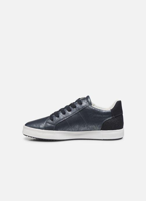 Sneakers Geox D BLOMIEE Blauw voorkant