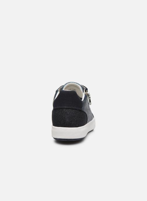 Sneakers Geox D BLOMIEE Blauw rechts