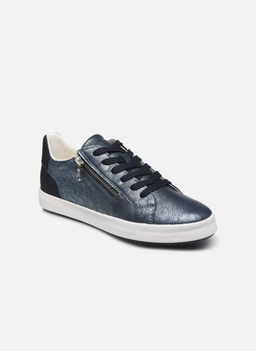 Trainers Geox D BLOMIEE Blue detailed view/ Pair view