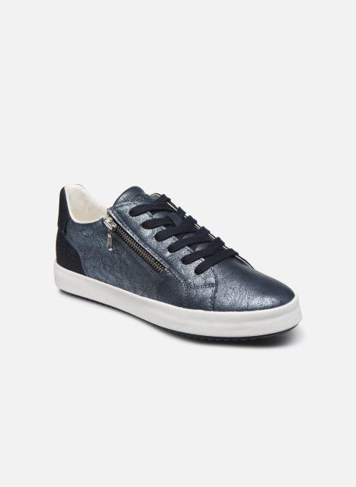 Sneakers Geox D BLOMIEE Blauw detail