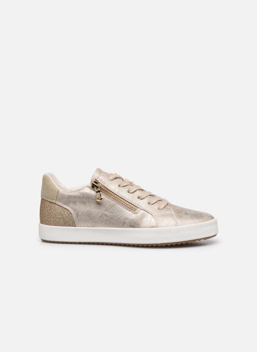 Sneaker Geox D BLOMIEE gold/bronze ansicht von hinten