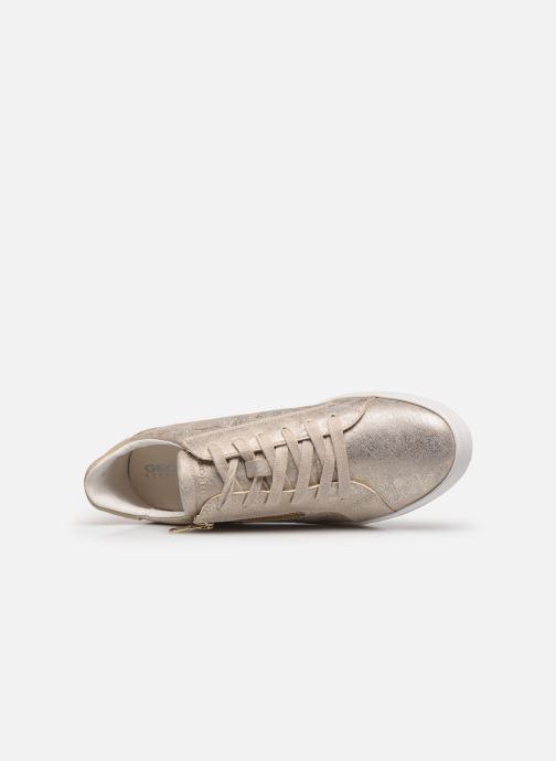 Sneaker Geox D BLOMIEE gold/bronze ansicht von links