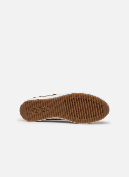 Sneaker Geox D BLOMIEE gold/bronze ansicht von oben