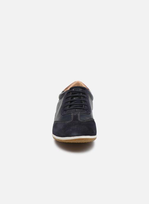 Baskets Geox D VEGA Bleu vue portées chaussures
