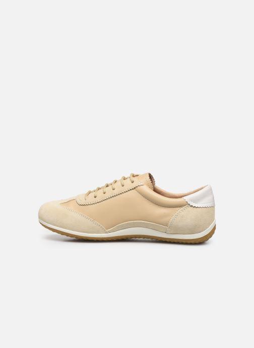 Sneakers Geox D VEGA Beige immagine frontale