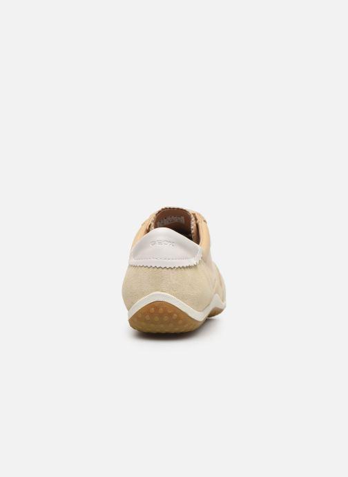 Sneakers Geox D VEGA Beige immagine destra