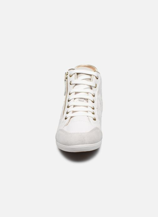 Trainers Geox D MYRIA D0268B White model view