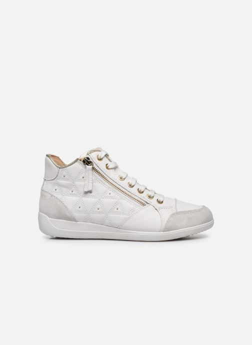 Trainers Geox D MYRIA D0268B White back view