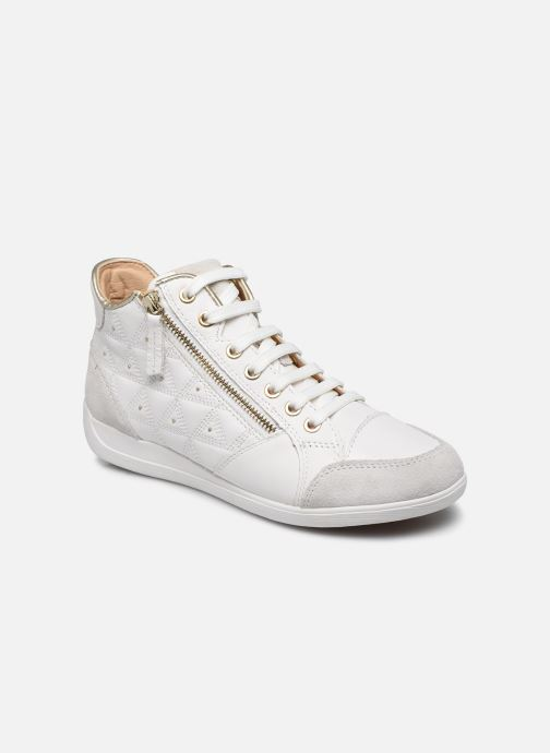 Trainers Geox D MYRIA D0268B White detailed view/ Pair view