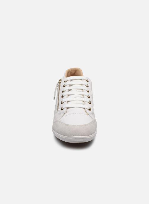 Baskets Geox D MYRIA D0268C Blanc vue portées chaussures