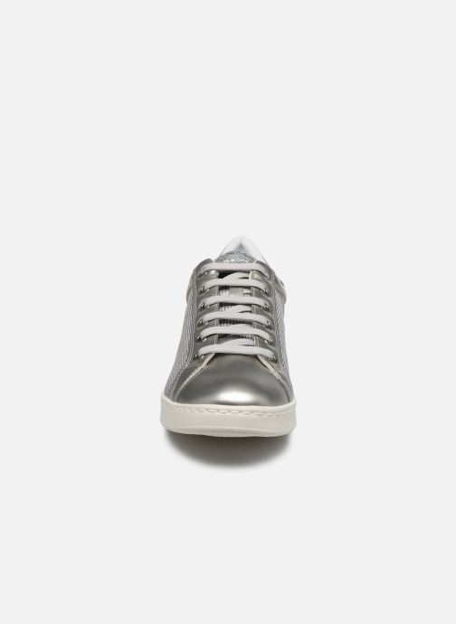 Trainers Geox D JAYSEN D021BD Silver model view