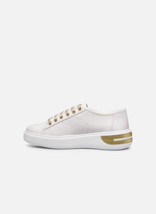Sneaker Geox D OTTAYA A D92BYA weiß ansicht von vorne