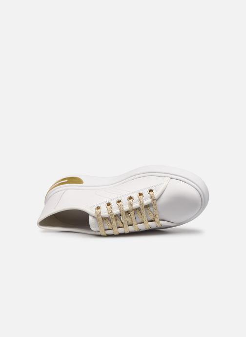 Sneaker Geox D OTTAYA A D92BYA weiß ansicht von links