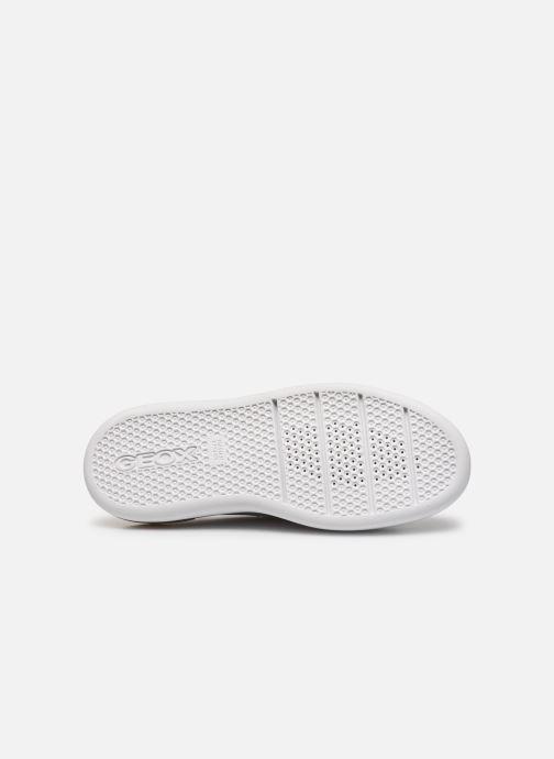 Sneaker Geox D OTTAYA A D92BYA weiß ansicht von oben