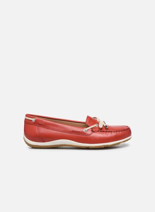 Chaussures à lacets Geox D VEGA MOC Rouge vue derrière