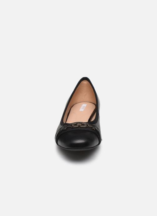 Ballerines Geox D WISTREY D024GD Noir vue portées chaussures