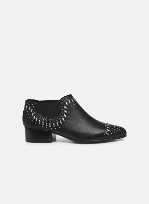 Ankle boots Geox D PEYTHON LOW C Black back view