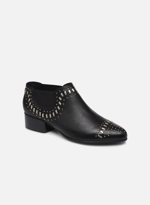 Ankle boots Geox D PEYTHON LOW C Black detailed view/ Pair view