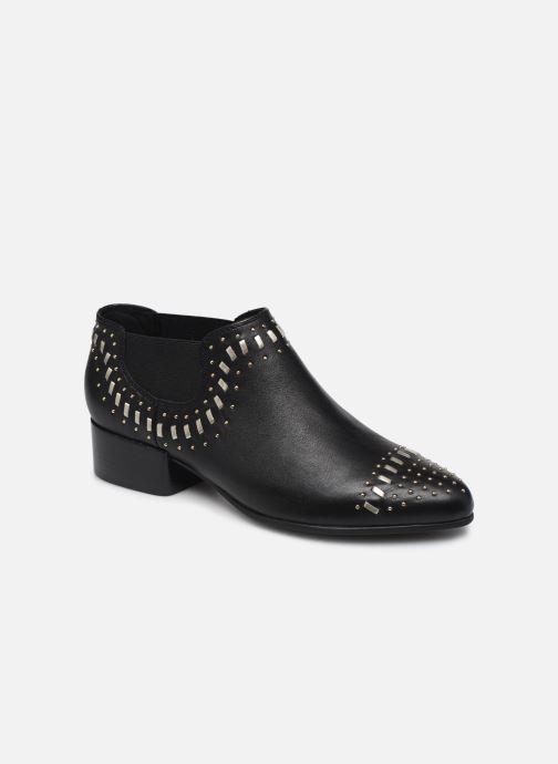 Stiefeletten & Boots Geox D PEYTHON LOW C schwarz detaillierte ansicht/modell