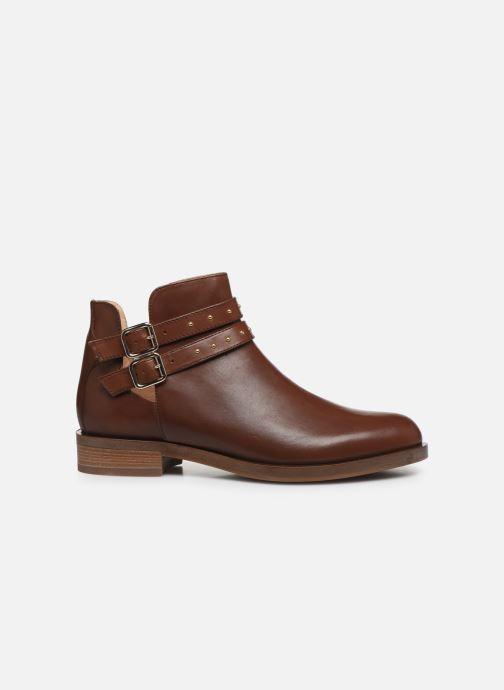Bottines et boots Geox D BROGUE S Marron vue derrière