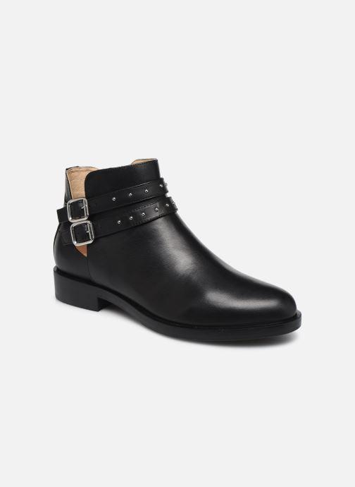 Bottines et boots Geox D BROGUE S Noir vue détail/paire