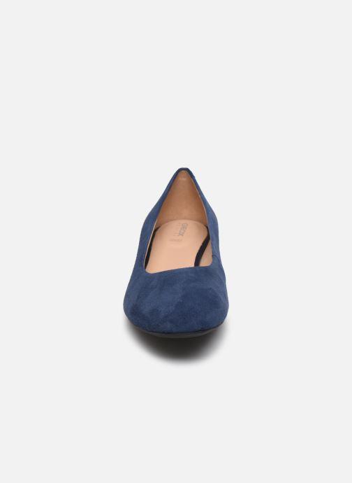 Escarpins Geox D CHLOO MID Bleu vue portées chaussures